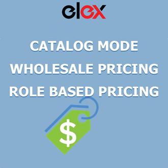 ELEX WooCommerce Catalog Mode, Wholesale & Role Based Pricing