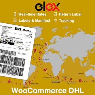 Dhl Pickup Locations >> Elex Woocommerce Dhl Express Ecommerce Paket Shipping Plugin With Print Label