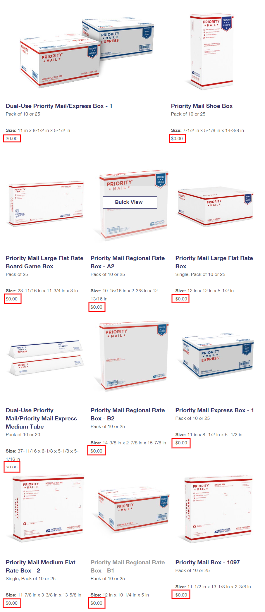 Fedex 10kg box flat rate price