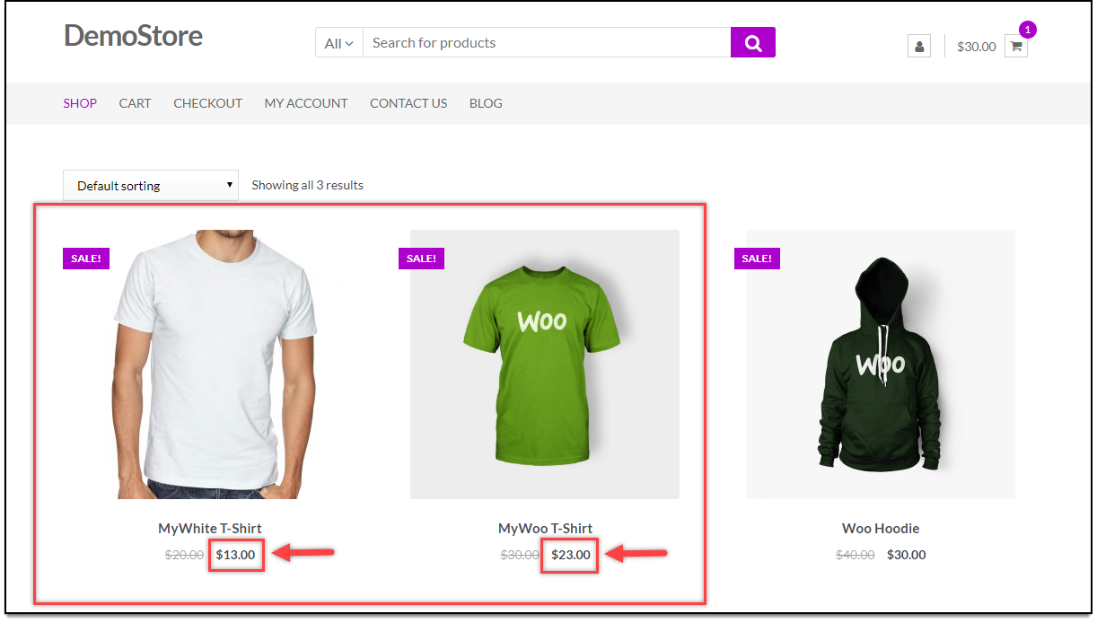 WooCommerce Bulk Edit Products | Sale Price Updated
