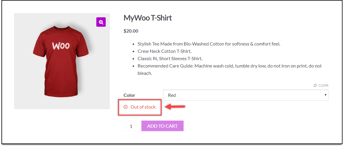 WooCommerce Bulk Edit Products | Stock Quantity Updated