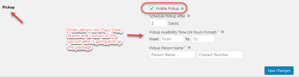 To enable pickup services in WooCommerce DHL Shipping Plugin by navigating to Label & Tracking tab of the plugin