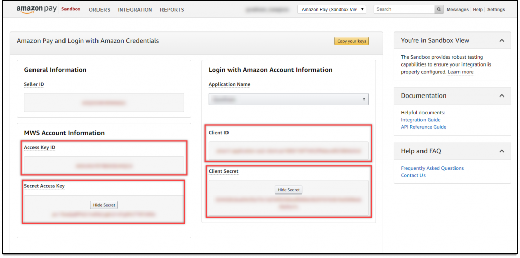 WooCommerce Amazon Payments | Amazon Pay & Login with Amazon Credentials