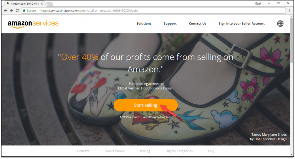 WooCommerce Amazon Payments | Register for Amazon Seller Central