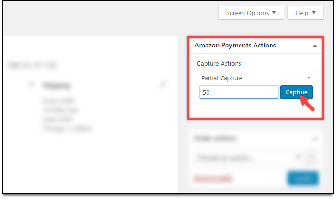 WooCommerce Amazon Payments | Partial Capture