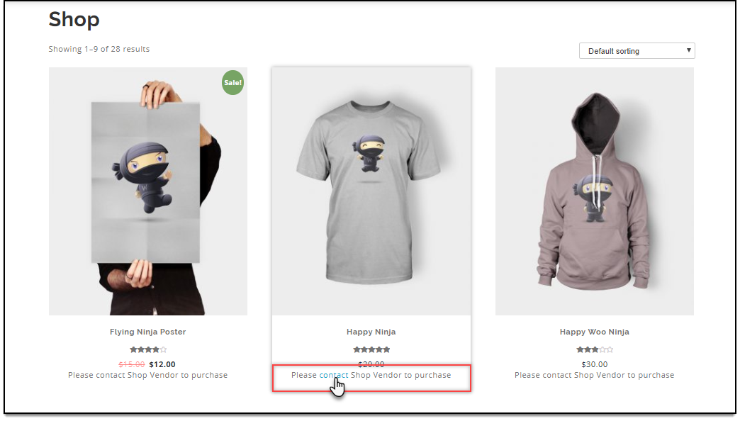 ELEX WooCommerce Role-Based Catalog Mode | Add to Cart button removed