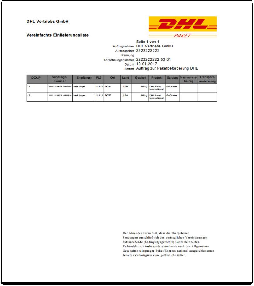 WooCommerce DHL Paket   Export Document