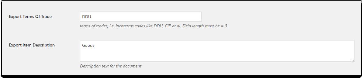 WooCommerce DHL Paket   Export settings