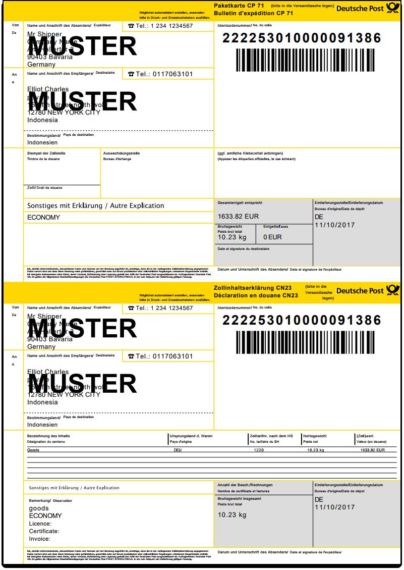 WooCommerce DHL Paket   Manifest