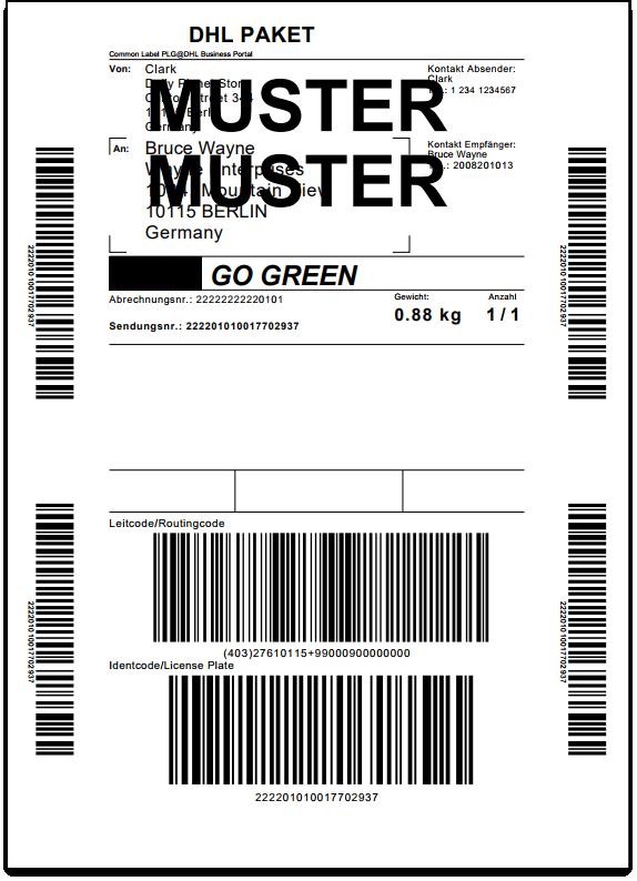 WooCommerce DHL Paket   Shipment Label