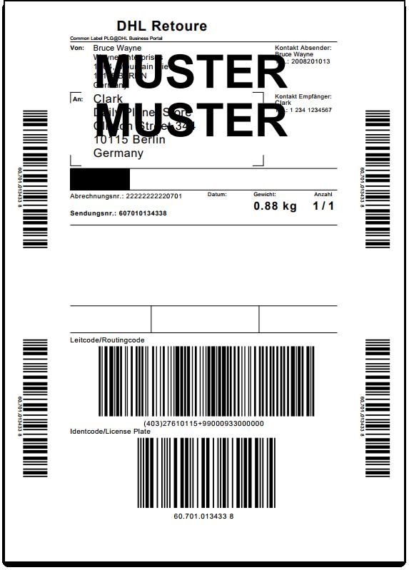 WooCommerce DHL Paket   Return Label