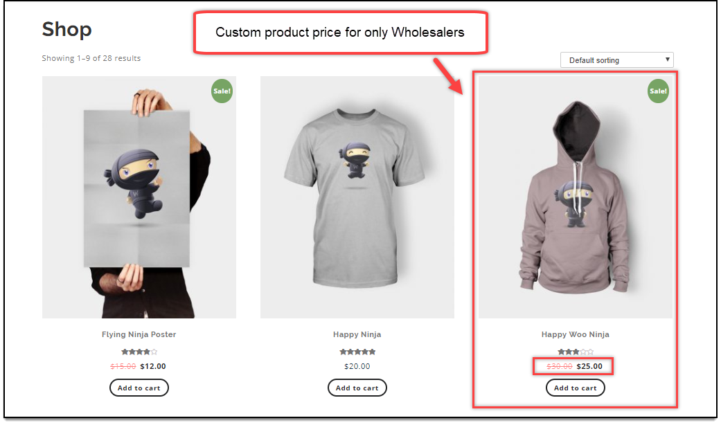 ELEX WooCommerce Wholesale Pricing | Custom Product Price Applied for Wholesalers