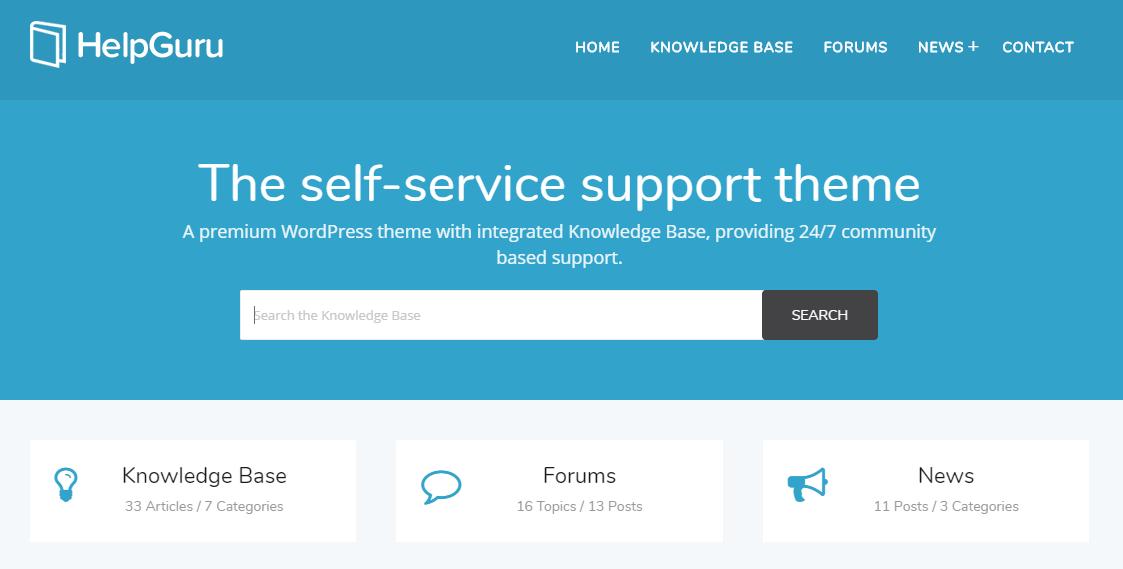 WordPress Knowledge Base