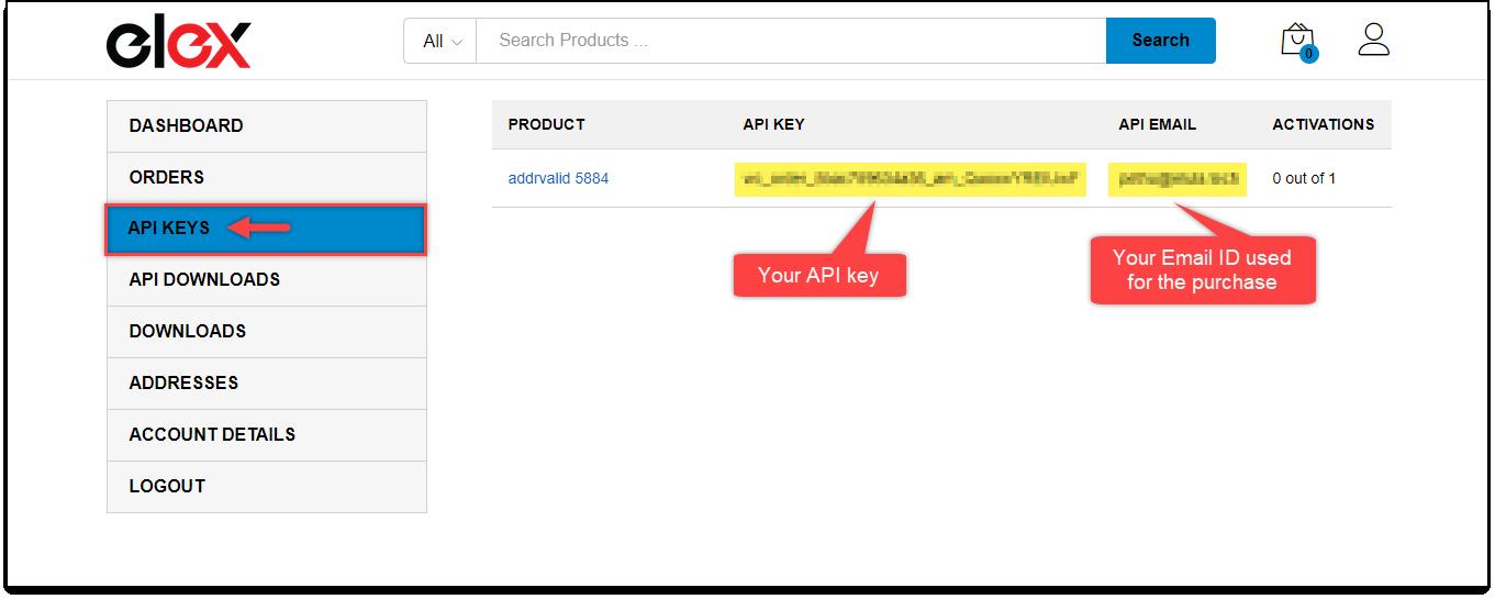 Download, Install, & Activate ELEX Plugins | ELEX plugin API key