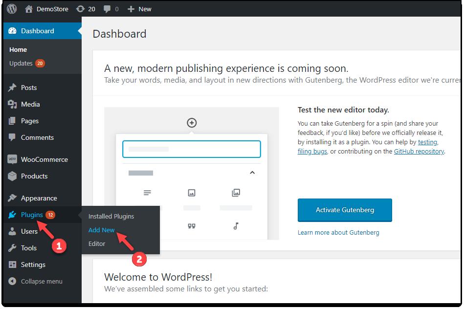 Download, Install, & Activate ELEX Plugins | Add New Plugin