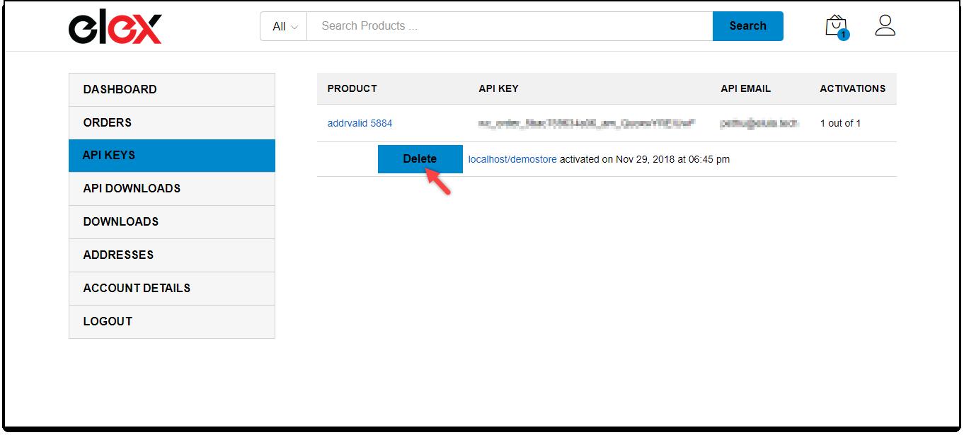 Download, Install, & Activate ELEX Plugins | Managing API key