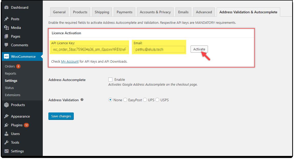 Download, Install, & Activate ELEX Plugins | Licence Activation