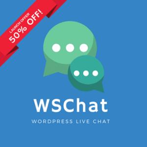 WSChat Launch Offer | Logo
