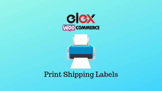 Print shipping labels on WooCommerce