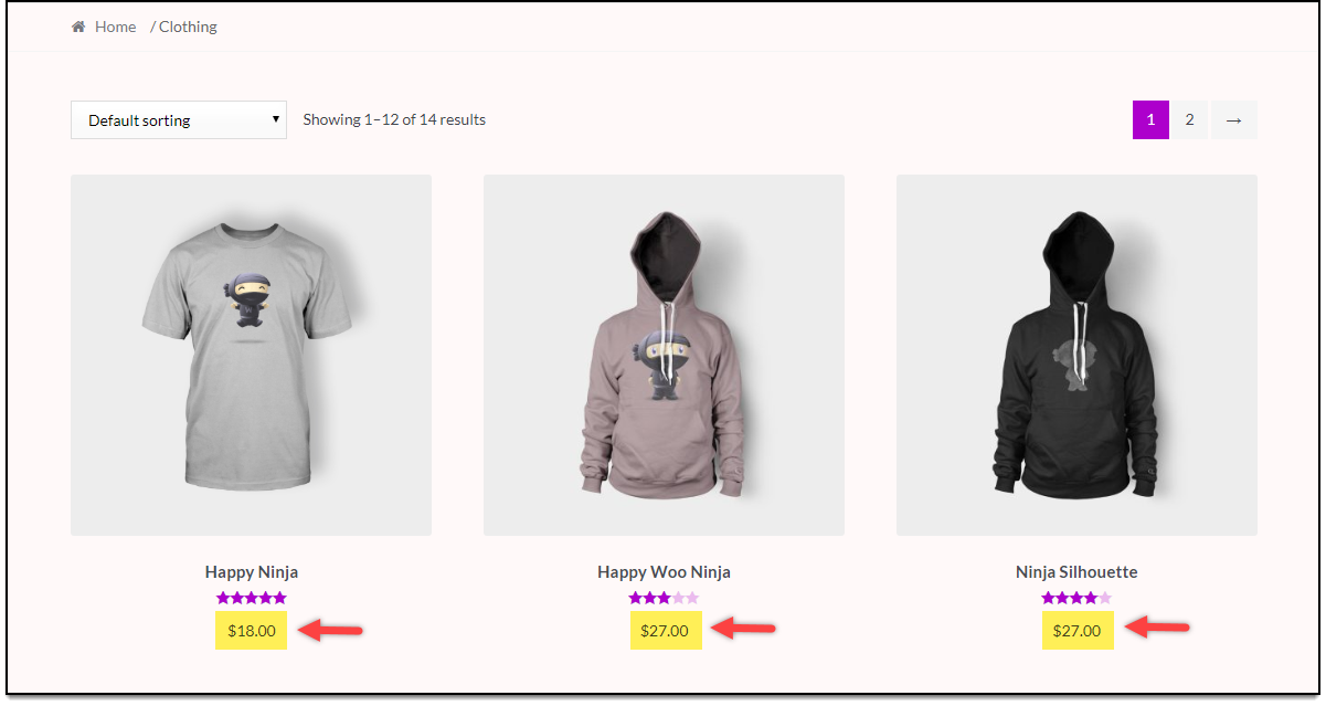WooCommerce Category Discounts | 10% discount for Clothing category