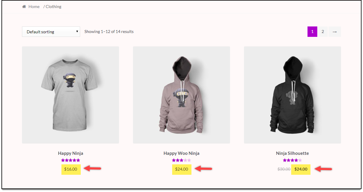 WooCommerce Category Discounts | 20% Discount on Clothing products