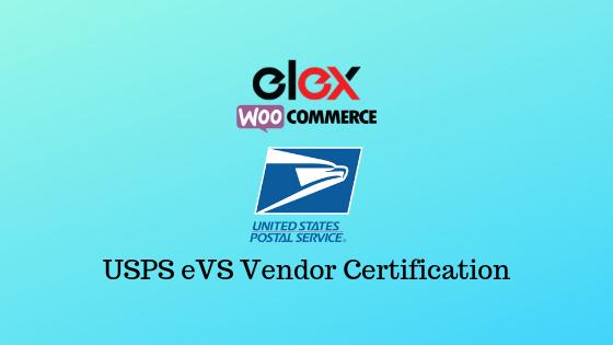 USPS eVS Vendor Certification